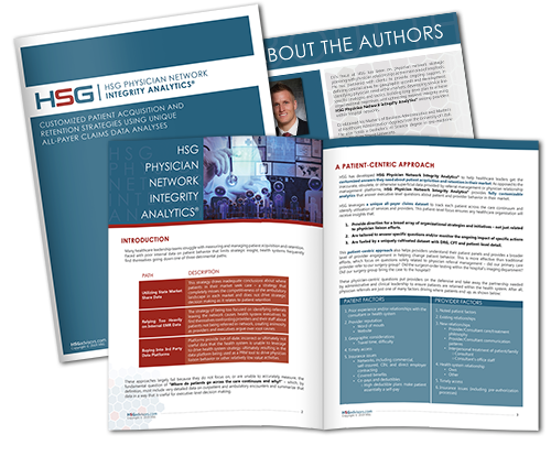 HSG Physician Network Integrity Analytics White Paper